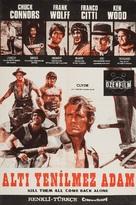 Ammazzali tutti e torna solo - Turkish Movie Poster (xs thumbnail)