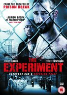 The Experiment - British Movie Cover (xs thumbnail)