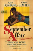 September Affair - Movie Poster (xs thumbnail)