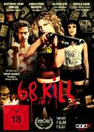 68 Kill - German DVD movie cover (xs thumbnail)
