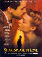 Shakespeare In Love - Movie Poster (xs thumbnail)