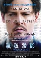 Transcendence - Hong Kong Movie Poster (xs thumbnail)