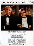 Crimes and Misdemeanors - French Movie Poster (xs thumbnail)