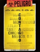 Contagion - Uruguayan Movie Poster (xs thumbnail)