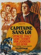 Plymouth Adventure - French Movie Poster (xs thumbnail)
