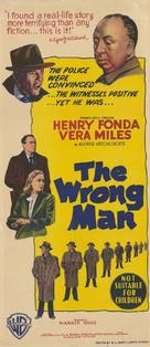 The Wrong Man - Australian Movie Poster (xs thumbnail)