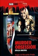 Murder obsession (Follia omicida) - Italian DVD cover (xs thumbnail)
