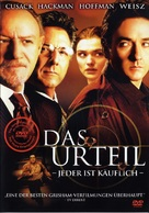 Runaway Jury - German Movie Cover (xs thumbnail)