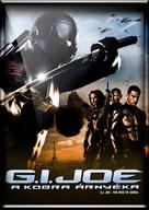 G.I. Joe: The Rise of Cobra - Hungarian DVD movie cover (xs thumbnail)