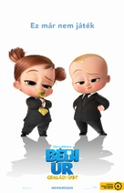 The Boss Baby: Family Business - Hungarian Movie Poster (xs thumbnail)