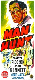 Man Hunt - Australian Movie Poster (xs thumbnail)