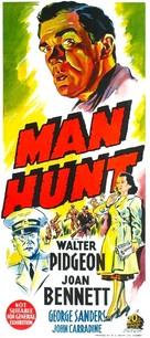 Man Hunt - Australian Movie Poster (xs thumbnail)