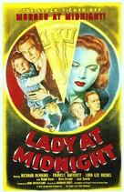 Lady at Midnight - Movie Poster (xs thumbnail)