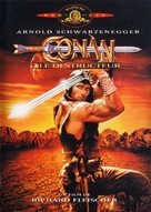 Conan The Destroyer - French DVD movie cover (xs thumbnail)