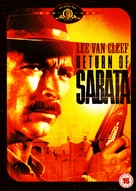 È tornato Sabata... hai chiuso un'altra volta - British DVD movie cover (xs thumbnail)