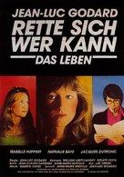 Sauve qui peut - German Movie Poster (xs thumbnail)