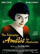 Le fabuleux destin d'Amélie Poulain - Danish Movie Poster (xs thumbnail)