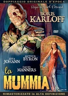 The Mummy - Italian DVD movie cover (xs thumbnail)