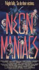 Neon Maniacs - VHS cover (xs thumbnail)