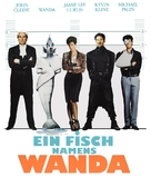 A Fish Called Wanda - German Blu-Ray cover (xs thumbnail)