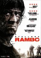 Rambo - Swedish Movie Cover (xs thumbnail)