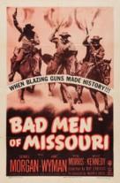 Bad Men of Missouri - Re-release poster (xs thumbnail)