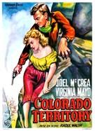 Colorado Territory - Belgian Movie Poster (xs thumbnail)