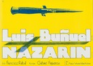 Nazarín - German Movie Poster (xs thumbnail)