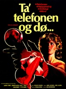 Eyes of a Stranger - Danish Movie Poster (xs thumbnail)
