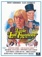 Little Lord Fauntleroy - Belgian Movie Poster (xs thumbnail)