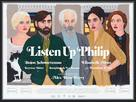 Listen Up Philip - British Movie Poster (xs thumbnail)