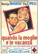 The Seven Year Itch - Italian Movie Poster (xs thumbnail)