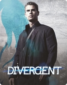 Divergent - British Blu-Ray movie cover (xs thumbnail)