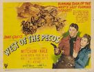 West of the Pecos - Movie Poster (xs thumbnail)