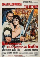 Solomon and Sheba - Italian Movie Poster (xs thumbnail)