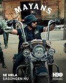"""Mayans M.C."" - Swedish Movie Poster (xs thumbnail)"