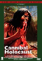 Cannibal Holocaust - Swedish DVD cover (xs thumbnail)