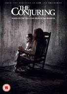 The Conjuring - British DVD movie cover (xs thumbnail)