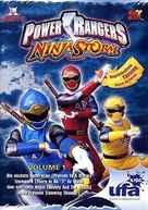 """Power Rangers Ninja Storm"" - German poster (xs thumbnail)"