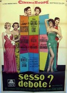 The Opposite Sex - Italian Movie Poster (xs thumbnail)