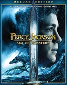 Percy Jackson: Sea of Monsters - Blu-Ray movie cover (xs thumbnail)