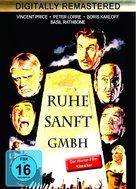 The Raven - German Movie Cover (xs thumbnail)