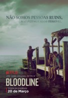 """Bloodline"" - Brazilian Movie Poster (xs thumbnail)"