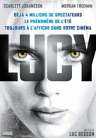 Lucy - French Movie Poster (xs thumbnail)