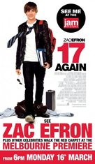 17 Again - Australian Movie Poster (xs thumbnail)