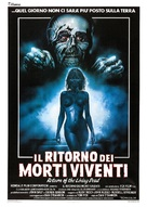The Return of the Living Dead - Italian Movie Poster (xs thumbnail)