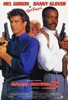 Lethal Weapon 3 - Brazilian Movie Poster (xs thumbnail)