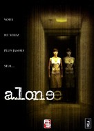 Alone - French DVD movie cover (xs thumbnail)