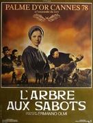 L'albero degli zoccoli - French Movie Poster (xs thumbnail)