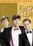 """Two and a Half Men"" - Brazilian DVD movie cover (xs thumbnail)"